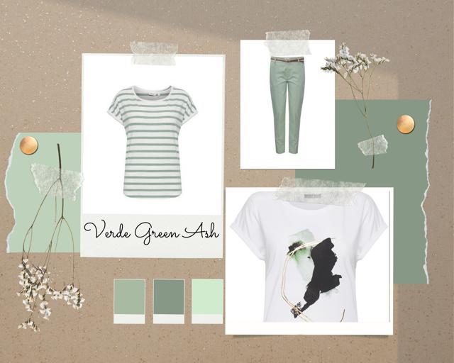 Pantone Green ASh