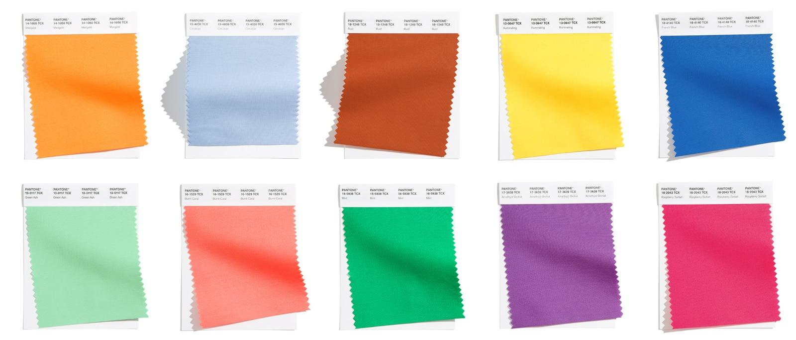 Colores PANTONE Primavera/Verano 2021